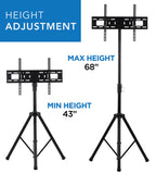 Mount-It! Tripod Portable TV Stand Fits LCD LED Flat Screen TV-MI-874 - Mount-It!