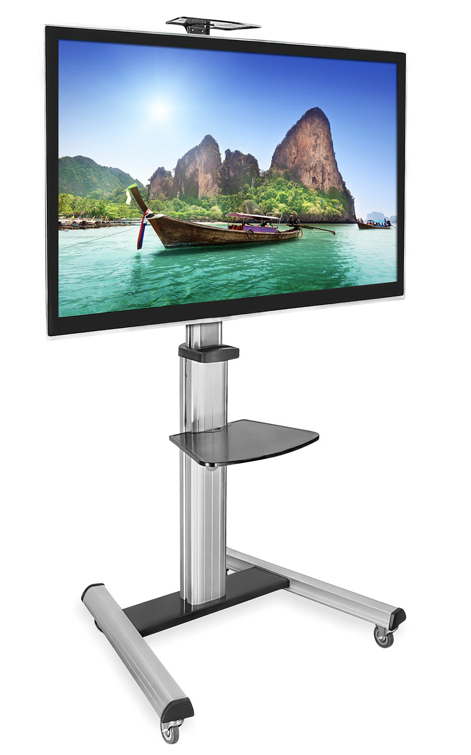 Mount-It! Mobile TV Cart - MI-875 - Mount-It!