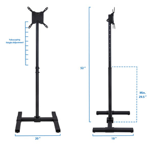 Mount-It! Portable TV Floor Stand - MI-878 - Mount-It!