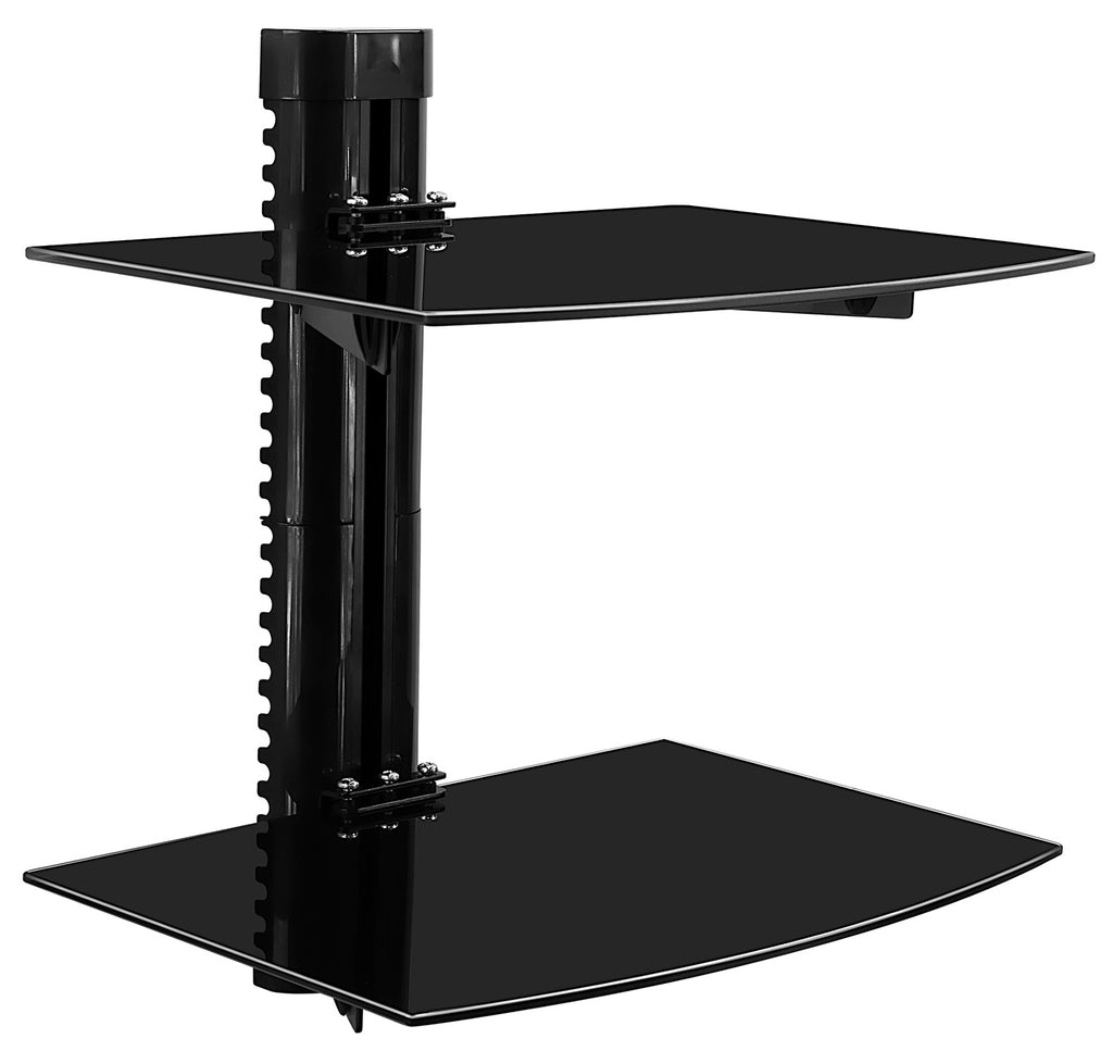 Mount-It! Floating Wall Mounted Dual Shelf Stand - MI-892 - Mount-It!