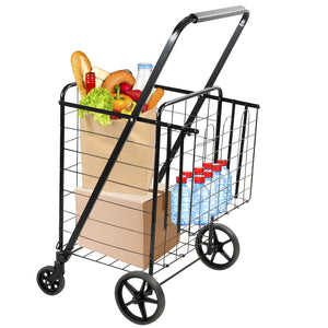 Rolling Utility Shopping Cart | MI-907