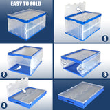 Folding Plastic Storage Crate | MI-909