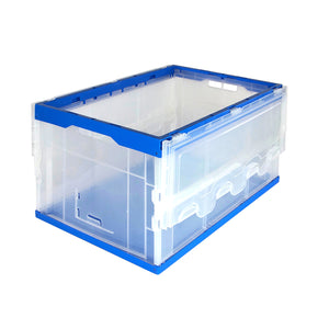 Folding Plastic Storage Crates
