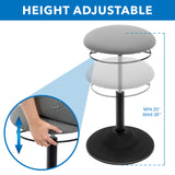 Height Adjustable Standing Desk Stool | MI-932