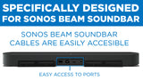 Sound Bar Wall Mounting Shelf for Sonos Beam | MI-SB45