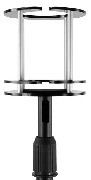 Mount-It! Height Adjustable Echo Floor Stand, Fits Amazon Alexa Echo, Echo Plus, Amazon Tap, and compatible with UE Boom - MI-SB57
