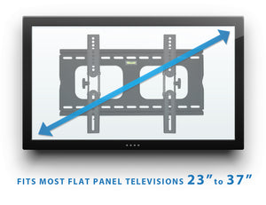 Mount-It! Tilting TV Wall Mount - MI-303S - Mount-It!