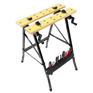 Portable Workbench with Clamps | WI-1001