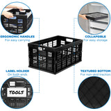 Collapsible Milk Crate