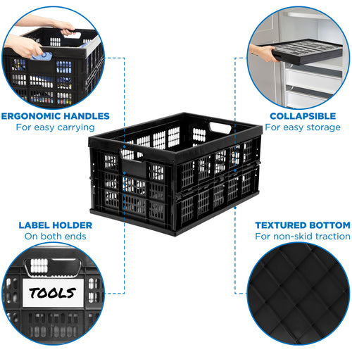 Collapsible Milk Crate 2
