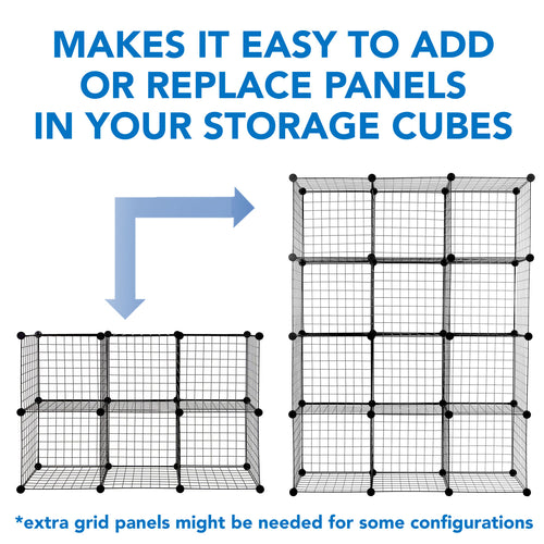 24 Piece Storage Cube Connector | WI-4010 2