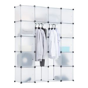 Portable Clothes Closet Rack