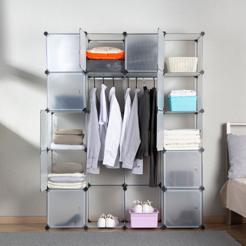 Portable Clothes Closet Rack 2