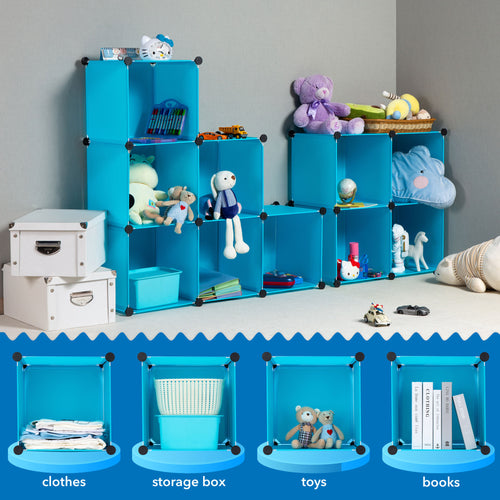Children's Portable Clothes Closet Rack 2