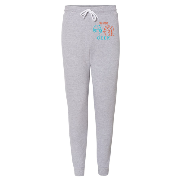 I'm Going Geek Silhouette Logo Unisex Jogger Sweatpants