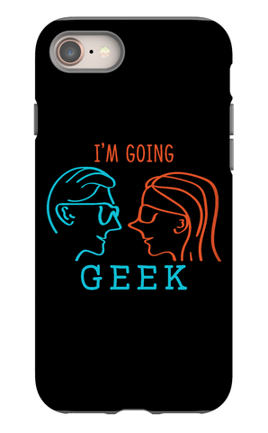 I'm Going Geek Silhouette Logo IPhone 8 Tough Case