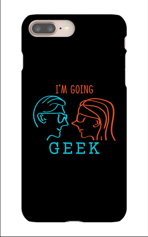 I'm Going Geek Silhouette Logo IPhone 8+ Snap Case