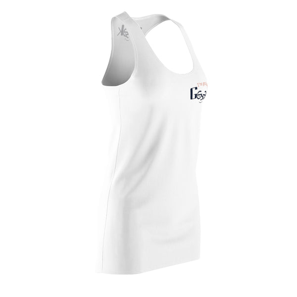 I'm Going Geek Color Logo Women's Cut & Sew Racerback Dress