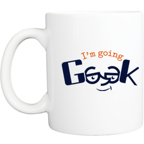 I'm Going Geek Color Logo Mug