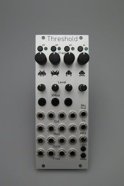 Threshold - 10HP Edges with integrated midi expander