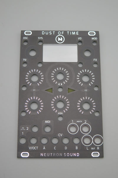 Dust of Time (DOT) Panel with window, TACT SWITCH VERSION