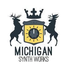 Michigan Synth Works Sticker