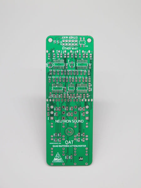 Neutron Sound Quad Attenuverter PCB