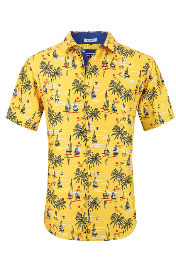 Above Man Yellow Sailor shirt
