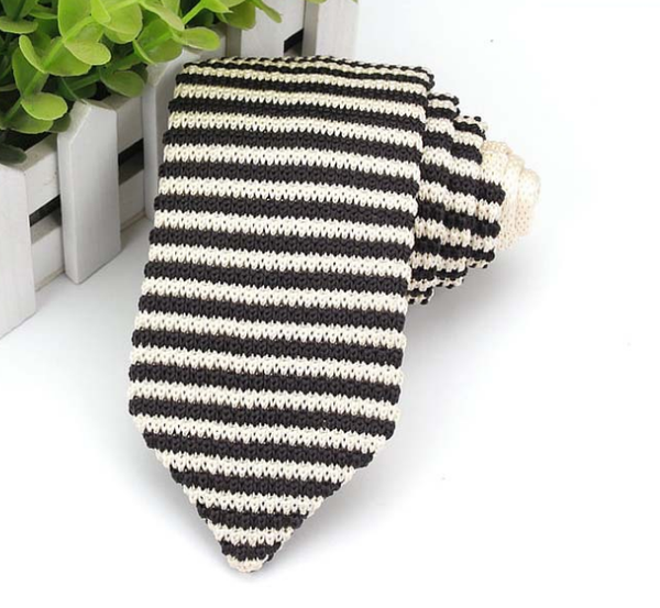 Woven Knit Neck Ties