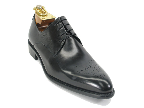 Carrucci Lace-up Oxford Black