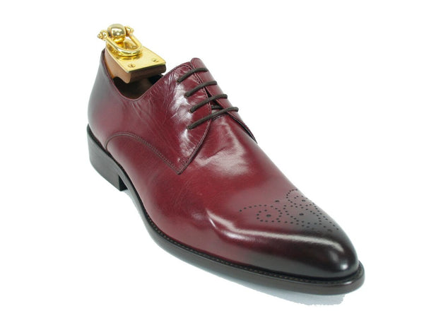 Carrucci Lace-up Oxford Burgundy