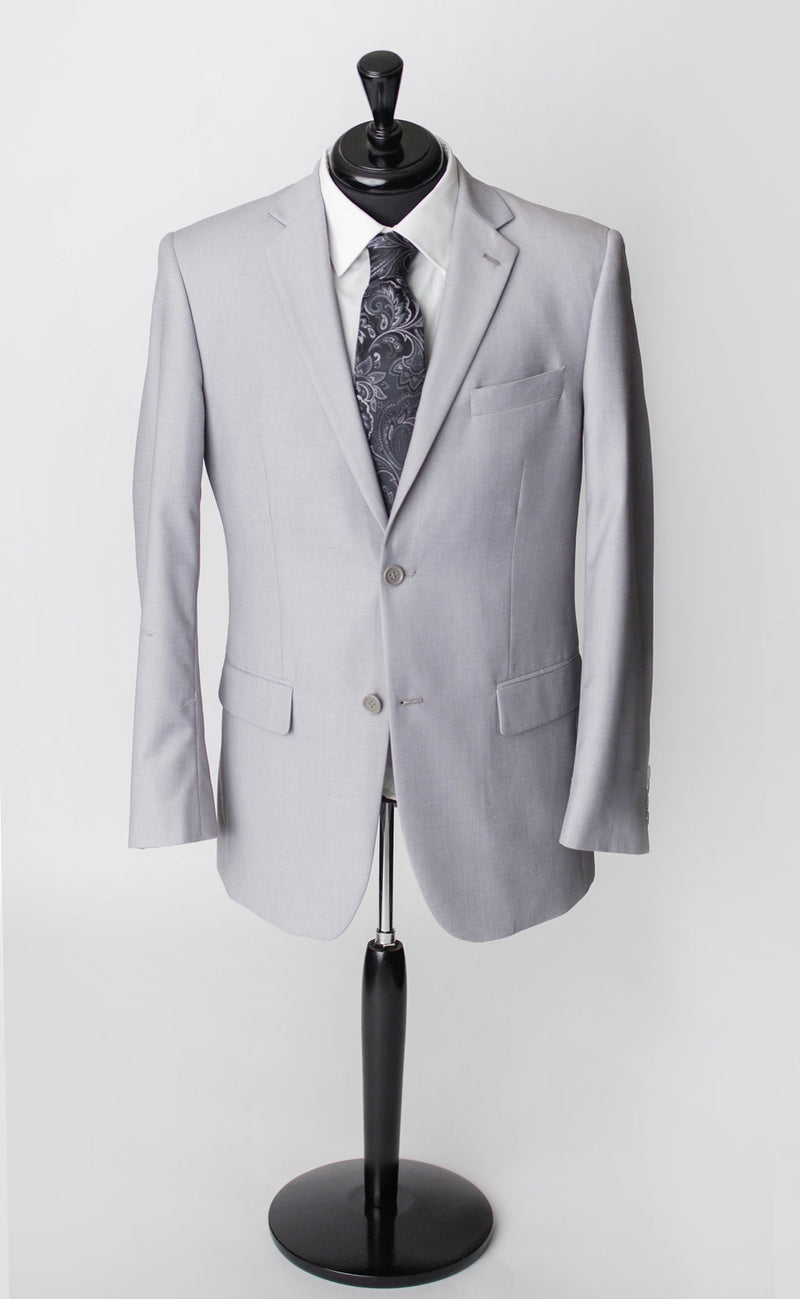 grey mens 1-3 piece suit