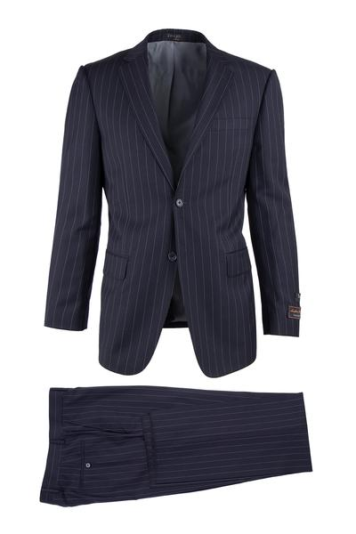 TIGLIO MODERN FIT NOVELLO BLUE PINSTRIPE SUIT