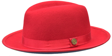 Princeton Red/Black Fedora