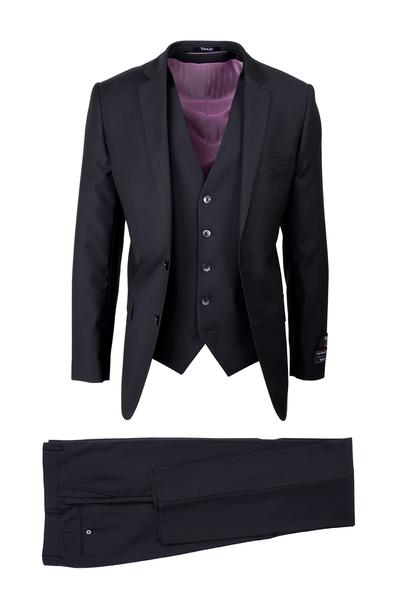 TIGLIO SLIM FIT SIENNA BLACK SUIT
