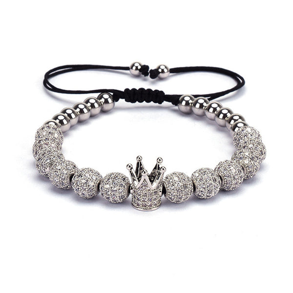 Mens crown Bracelet