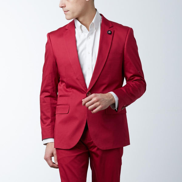 TR PREMIUM STRETCH SPORT COAT/ RED