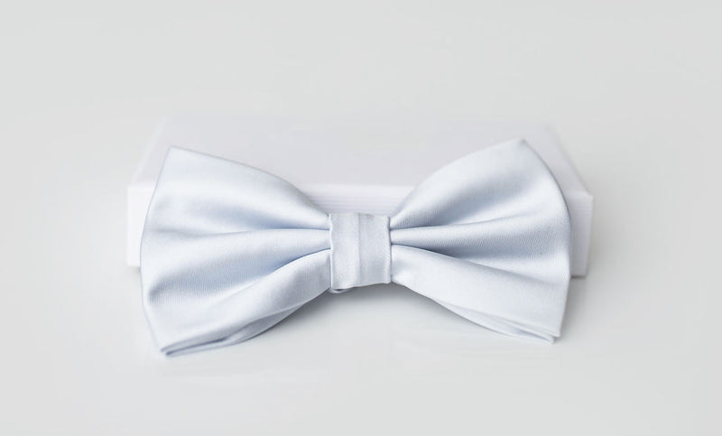 white bowtie for men