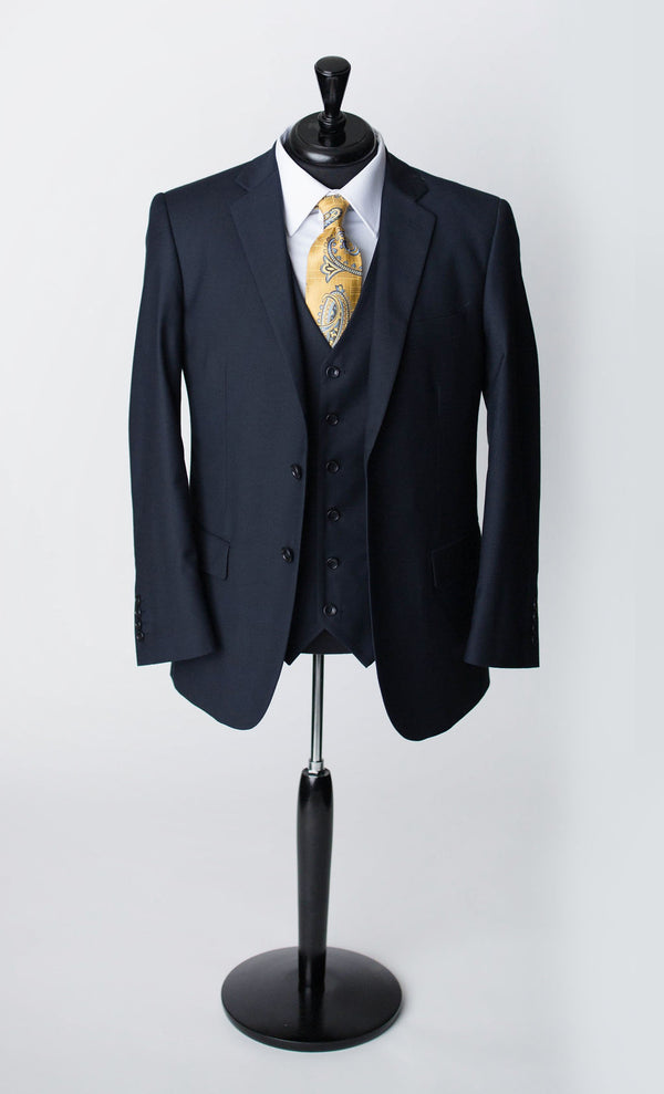 navy/blue mens 1-3 piece suit