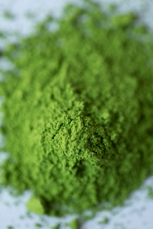 Organic culinary matcha green tea powder