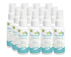 NEW PRICE! BAC-D® Hand Sanitizer & Wound Care 2 oz. Spray - 12 Piece Value Pack