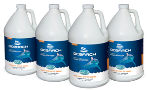 OCEARCH Hand Sanitizer - 1 Gallon Refill Value Pack of 4
