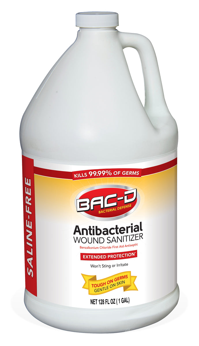 BAC-D® Wound Sanitizer - 1 Gallon Refill