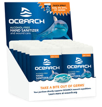 Load image into Gallery viewer, OCEARCH® 18ml Hand Sanitizer and Wound Care Spray - 12 Piece Pack