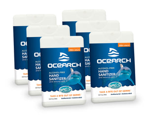 OCEARCH 18ml Hand Sanitizer and Wound Care Spray - 6 Piece Pack