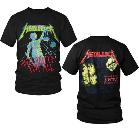 Metallica And Justice For All T-Shirt