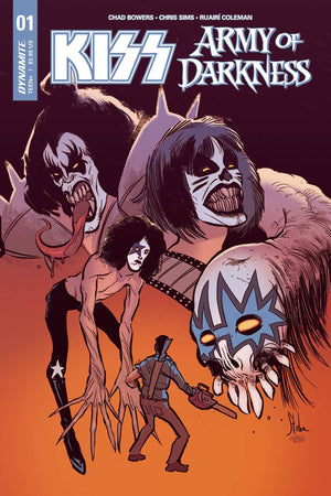KISS Army of Darkness #1 Cover A