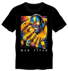 Thanos The Mad Titan Men's Black T-Shirt