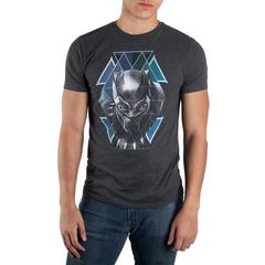 Black Panther Geometric Face T-shirt