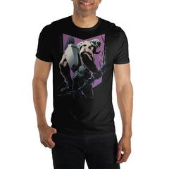 Venom Symbiote Hawkeye With Bow Venomized Black T-Shirt